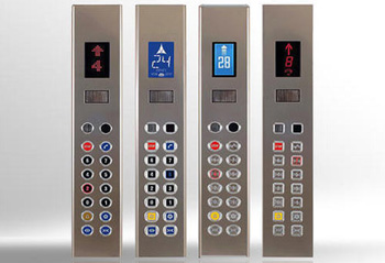 قیمت شستی و پنل آسانسور